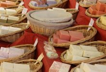 Nyons market – soap from Marseille