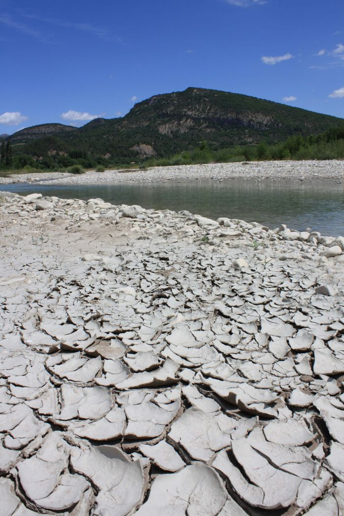 Drought by the river